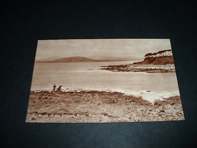 IRELAND  MOUTH OF THE GRNAGH RIVER BUNCRANA Co  DONEGAL  RP POSTCARD  1920s