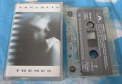 VANGELIS THEMES 839 518-4 Polydor 1989 VGTVC 1 CASSETTE TAPE k7 MC TESTED