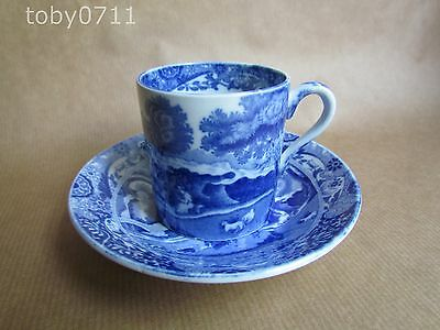 COPELAND SPODE'S ITALIAN COFFEE CUPS & SAUCERS - VINTAGE MARK (Ref985)