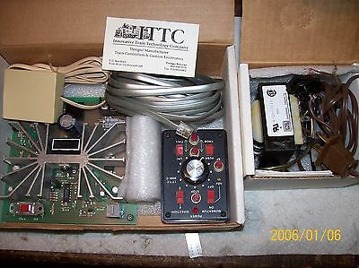 ITTC Innovator 3000 Controller / Throttle / Power Pack with 4 AMP Power Supply