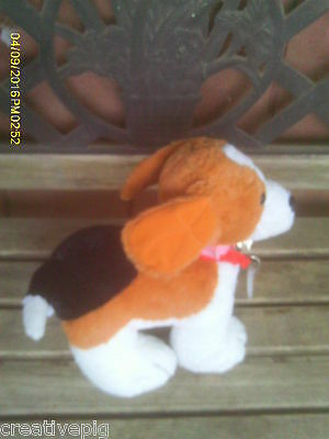 Tri-Colored Plush Beagle Puppy Dog by Build-A-Bear
