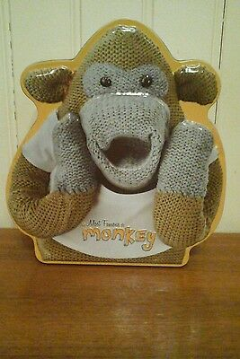 PG Monkey Biscuit Tin With Cookies New