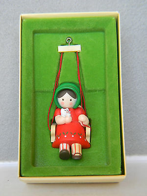 """christmas Is For Children"" Ornament - 1979 Hallmark Tree-Trimmer Collection"