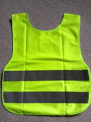 *** NEW Visible Security Reflective Vest Jacket, size 5-10 years ***