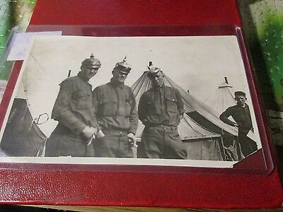 WWI Photo of German Soldiers