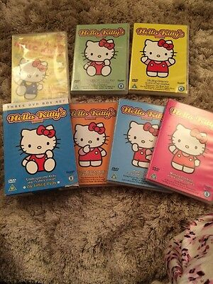 Hello Kitty Bundle Of 6 DVDs