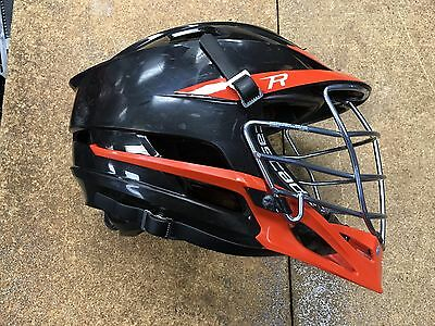 Cascade R Lacrosse Helmet Black / Orange