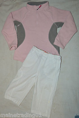 Girls Fleece Jumper and Trouser Bundle Age 5-6 Years