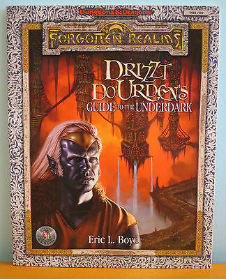 NEW AD&D Drizzt Do'Urdens Guide to the Underdark - TSR