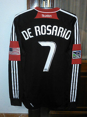 #7 DE ROSARIO, DC UNITED Official FORMOTION player ISSUE home shirt, MLS 2012-13