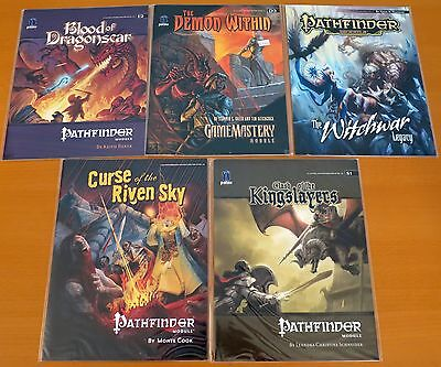 Pathfinder Set of 5 High-Level Modules NEW