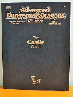 NEW AD&D The Castle Guide