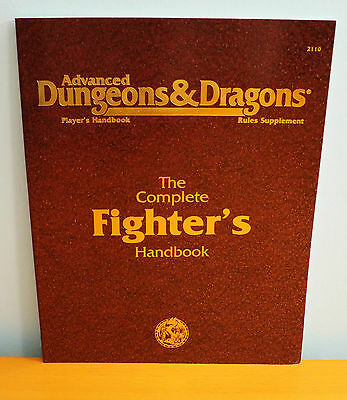 NEW AD&D Complete Fighter's Handbook