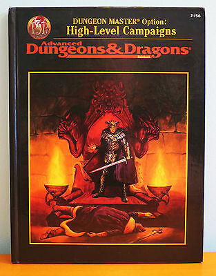 NEW AD&D High Level Campaigns