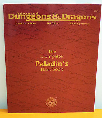 NEW AD&D Complete Paladin's Handbook