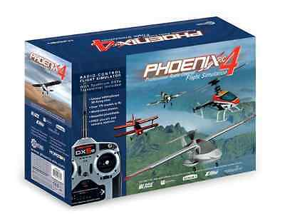 Phoenix R/C Pro Simulator V4.0 with DX5E Mode 1 Flight Simulator 55101