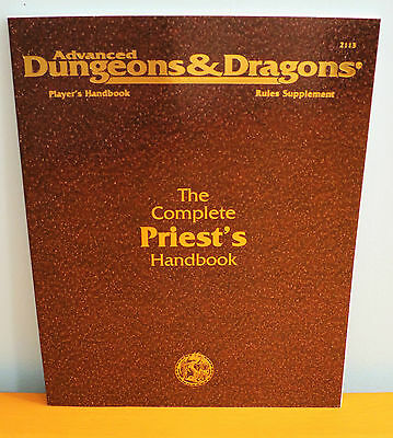 NEW AD&D The Complete Priest's Handbook