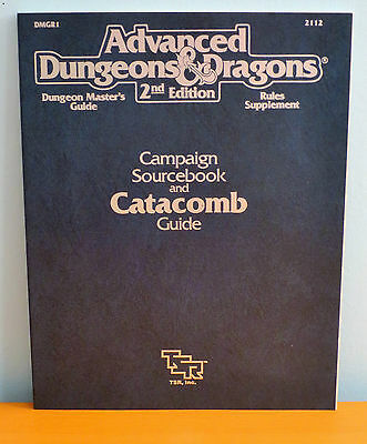 NEW AD&D Campaign Sourcebook and Catacomb Guide