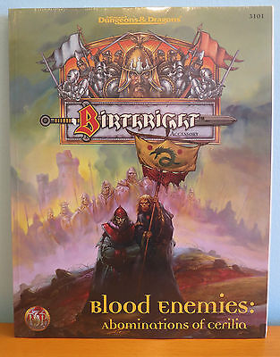 NEW AD&D Birthright Blood Enemies Abominations of Cerilia Sealed