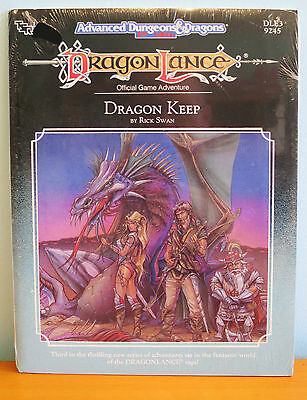NEW AD&D Dragonlance Dragon Keep adventure - sealed