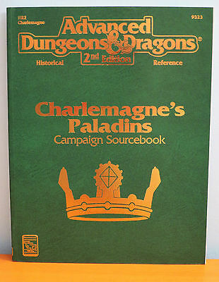 NEW AD&D - Charlemagne's Paladins Campaign Sourcebook TSR
