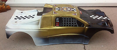 HPi Truggy Used 1/8th Nitro RC Body Shell Cover Top Lid