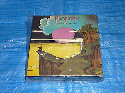 HAWKWIND Warrior On The Edge Of Time Empty PROMO BOX JAPAN NEW for Mini LP HQ CD