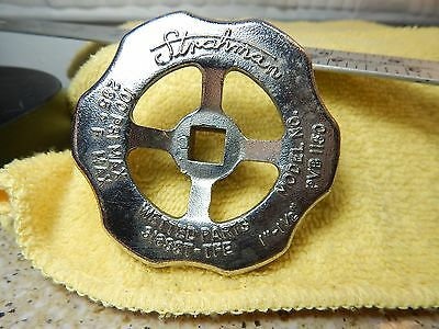 "Strahman Valve No.PVB1150 Easy Grip 3"" Handle 3/8"" square Drive"