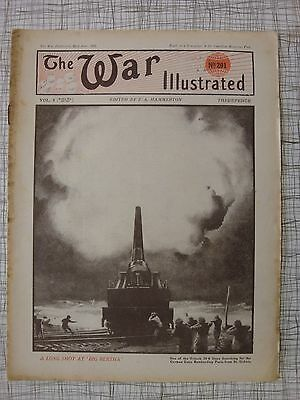 The War Illustrated, Great War # 201 (Whippet Light Tank, French Armoured Cars)
