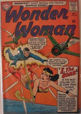 Wonder Woman #157 (1965) First appearance of Egg Fu!!
