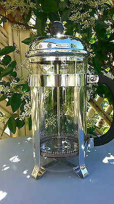 Used Once Bodum Coffee Press 3 Cup Stainless Steel Rrp $80