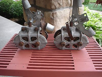 Louden 2373 Cast Iron Trolley Set Very Nice Condition