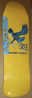 Krooked Tony Hawk Guest Pro Skateboard Deck #341/540 Rare