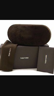 Tom Ford Sunglasses Case Brown Case Large Case Only New