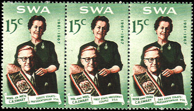 South West Africa #312-313 set MLH VF