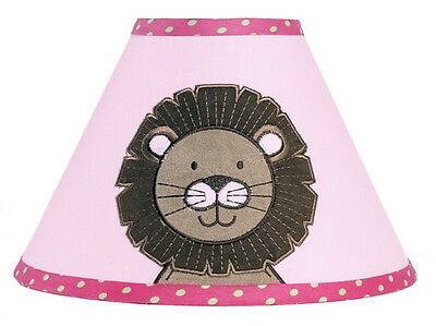 Sweet Jojo Designs Lamp Shade for Jungle Friends Animal Safari Baby Kid Bedding