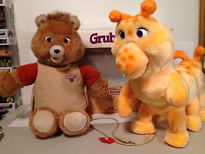 Teddy Ruxpin And Grubby With A Box VG++++