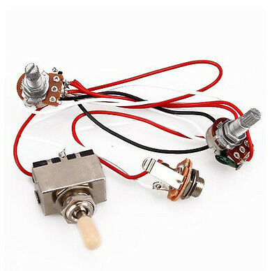 electric guitar wiring kit electric image wiring 3 way toggle electric guitar wiring harness switch 1 volume 1 tone on electric guitar wiring