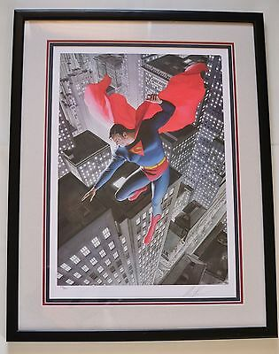 Superman: Twentieth Century LE Frame Print SIGNED by Alex Ross #296 of 350 w/COA
