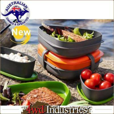LIGHT MY FIRE LunchKit Food Kit Set Meal Container Outdoor Camping
