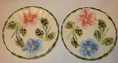 """Blue Ridge Southern Potteries Norma Lot of 2 Bread Plates 6"""""""