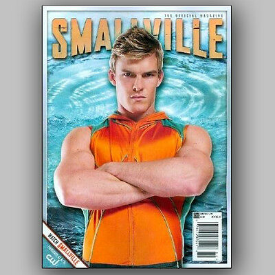 SMALLVILLE Official Magazine # 29 Variant cover AQUAMAN Alan Ritchson