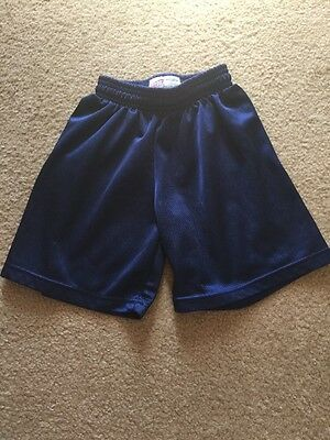 Soffe Navy Blue Athletic Shorts Size XS