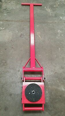 6 Ton heavy machine dolly skate machinery roller mover with turning handle