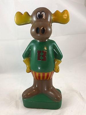 Bullwinkle 1977 Vintage Plastic Bank-The Rocky & Bullwinkle Show -Rare VG Cond