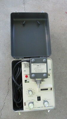 Mdh Radcal Model 1015  Radiation Xray Monitor W/sensor Look Must See