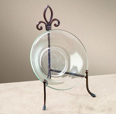 Large York Metal Stand for Books, Bowls, or Platters