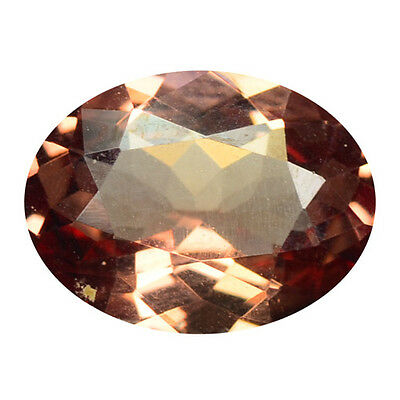 1.44 ct HUGE UNIQUE RARE NATURAL FROM EARTH MINED PINKISH RED MALAYA GARNET