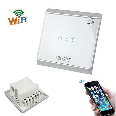 86mm Wall Touch Panel Wireless Wifi Smart Home Automation light Control Switch
