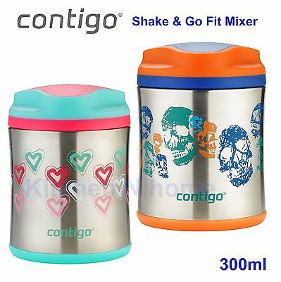 Contigo 300ml Food Jar forKids, Vacuum insulated, thermos flask, BPA Free